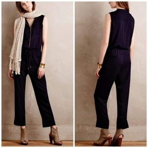 Elevenses by Anthro Utility Cropped Jumpsuit SP